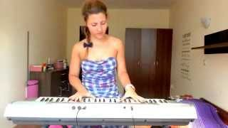 """30 Seconds to Mars """"Hurricane"""" Piano and vocal cover"""