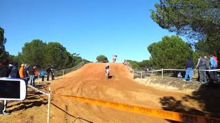 Motocross Andaluz Circuito de Almonte Caidas Aficionados  Meseta de la Carretera