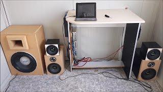 Car Audio System In A Small Room   SQ Test + Flex