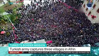 Turkish military and FSA liberate three more villages in Afrin