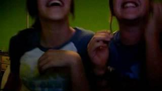 Dani and Sarah Singing To Dora The Explorer.