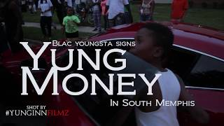 Blac Youngsta Signs Yung Money In South Memphis