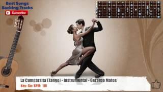 La Cumparsita (Tango) - Instrumental - Gerardo Matos Guitar Backing Track