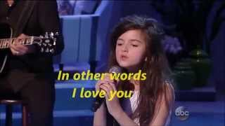 Fly Me To The Moon - Angelina Jordan