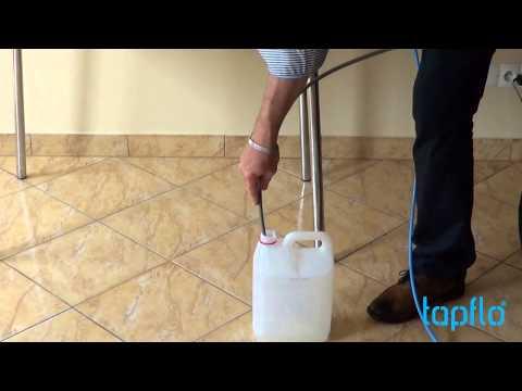 Tapflo Sample Case - Video tutorial - Draining