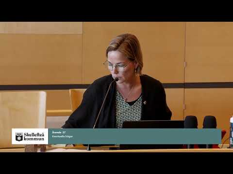 Kommunfullmäktige 20 april