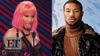 Nicki Minaj Hits On Michael B. Jordan