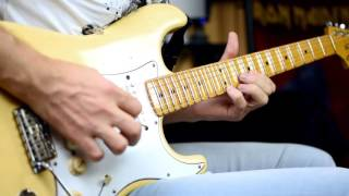 Melodic Heavy Metal guitar solo improvisation