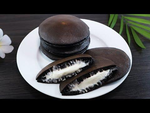 [KO CẦN LÒ] Bánh Rán Đô Rê Mon làm từ OREO thơm ngon dễ ẹc luôn, Dorayaki OREO