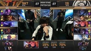 【MSI季中冠軍賽】小組賽 第五天 SKT vs IG