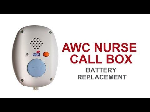 Nurse Call Box Basic Maintenance: Battery