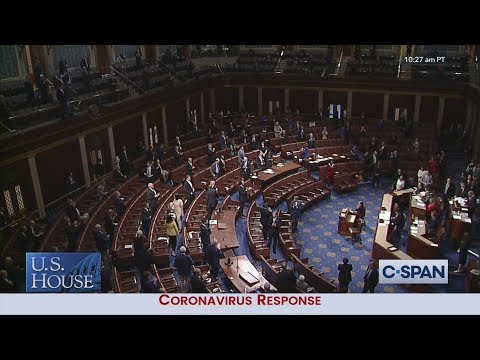 U.S. House PASSES $2 Trillion Economic Aid Bill by Voice Vote.