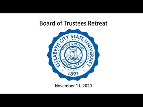ECSU Board of Trustees Retreat