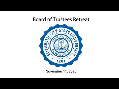 ECSU Board of Trustees Retreat