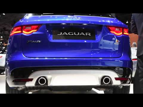 Jaguar F-Pace | First Look & Review | 2017 New York Auto Show