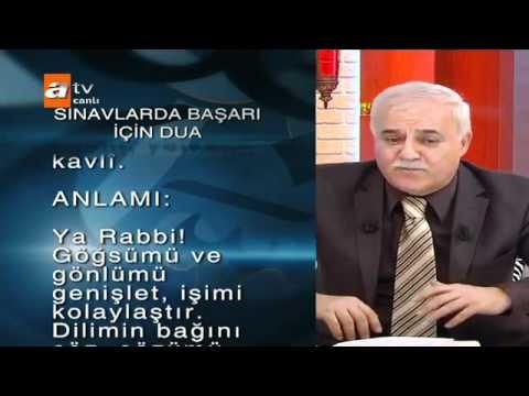 Nihat Hatipoglu-sinavda basari ve baslangic duasi