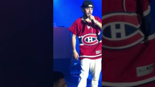 Russ Live in Montreal/YungGodTour #Goodbye