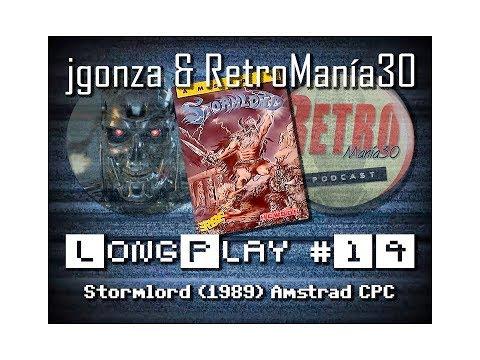 Stormlord - Amstrad CPC Longplay