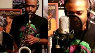 2Pac - Changes - Alto and Tenor Saxophone Duet - (SirFoster and Charlez360)