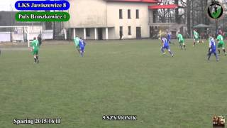 26 03 2016 Puls Broszkowice 3:0 Szymonik