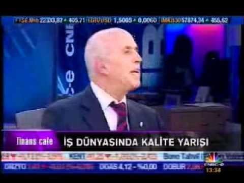 """CNBC-e - Finans Cafe - İDO'nun aldığı """"KALDER Başarı Ödülü"""" anlatılıyor.(Aralık 2009)"""