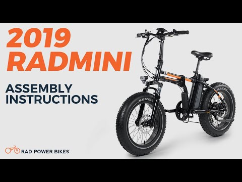 2019 RadMini and RadMini Step-Thru Assembly Instructions