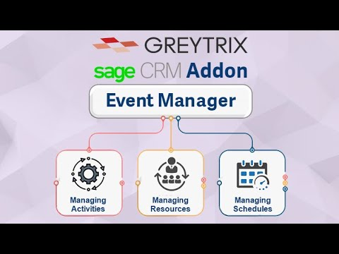 Sage CRM Event Manager