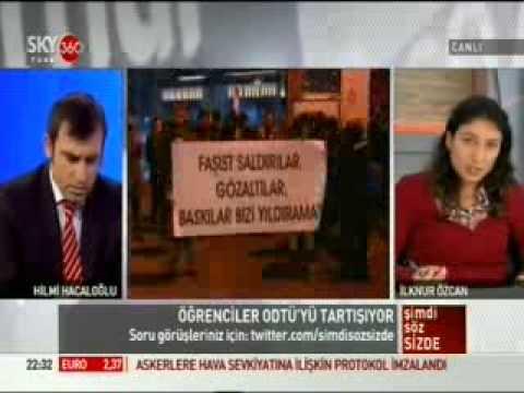 ODTÜ Kolektif temsilcisi İlknur Özcan SKYTürk'teydi