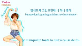 [VOSTFR/COLOR LYRICS HAN/ROM] TWICE Hold Me Tight
