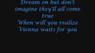 Billy Joel- Vienna (with lyrics)