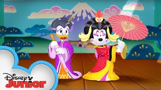 Kabuki Chaos | Minnie's Bow-Toons | Disney Junior