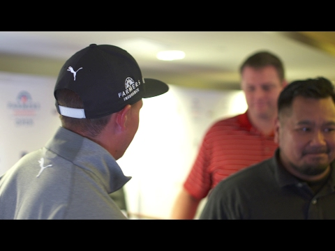 Farmers Insurance Open: Suits For Soldiers Milestone