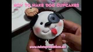 How to Make Cute Dog Cupcakes