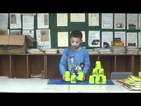 疊杯教學第二階段 - YouTube