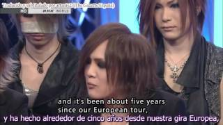 the GazettE the 6th Awards Live Special sub español