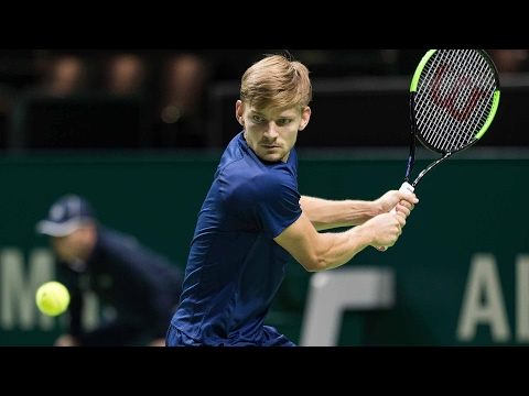 Goffin Shows off Reactions In Rotterdam Hot Shot 2017