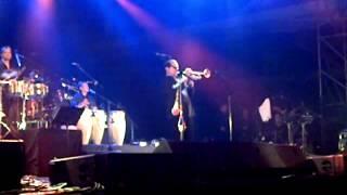 Solo de trompeta, Ligia Elena, por Wichy Lopez