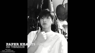 Paper Hearts - JK Cover - 3D