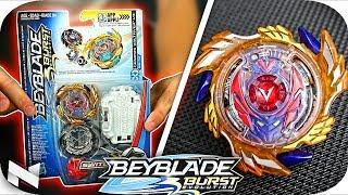Genesis Valtryek V3 UNBOXING+TEST!! || Beyblade Burst Evolution || Hasbro Beyblade