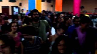 Noite da música brasileira no Encontro Latino Americano de Teatro do Oprimido - Guatemala