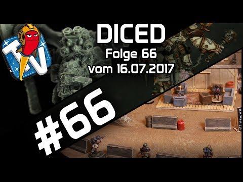 DICED - Die Tabletopshow auf Rocketbeans TV # 66 | Warhammer 40000 | MOM Miniaturas | PB12 | DICED