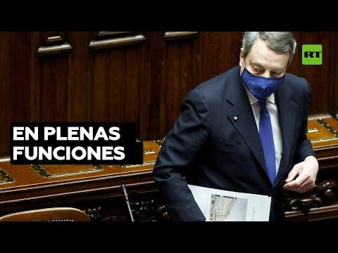 Italia: Gobierno del primer ministro Mario Draghi es investido tras obtener el apoyo del Parlamento
