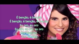 Parabéns pra você-Aline Barros playback com letra HD