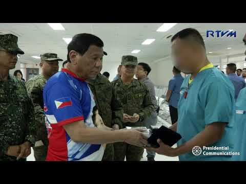 Awarding of the Order of Lapu-Lapu to Killed-In-Action and Wounded-In-Action Soldiers 03/13/2019