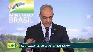 Presidente Bolsonaro participa do lançamento do Plano Safra 2019-2020