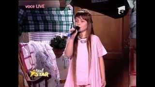 "Anna Tkachi cântă melodia ""Summertime"" (Ella Fitzgerald), la Next Star!"