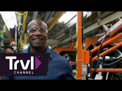 Terry Crews Joins the Detroit/Hamtramck Assembly Line in Travel Channel?s ?Celebrity Adventure Club?