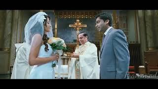 Vinnai thandi varuvaya marriage scene | hindu Christian marriage | whatsapp status