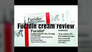 Fucidin cream review