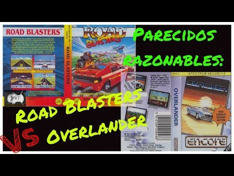 Parecidos Razonables: Road Blasters (US Gold) vs Overlander (Elite) Spectrum